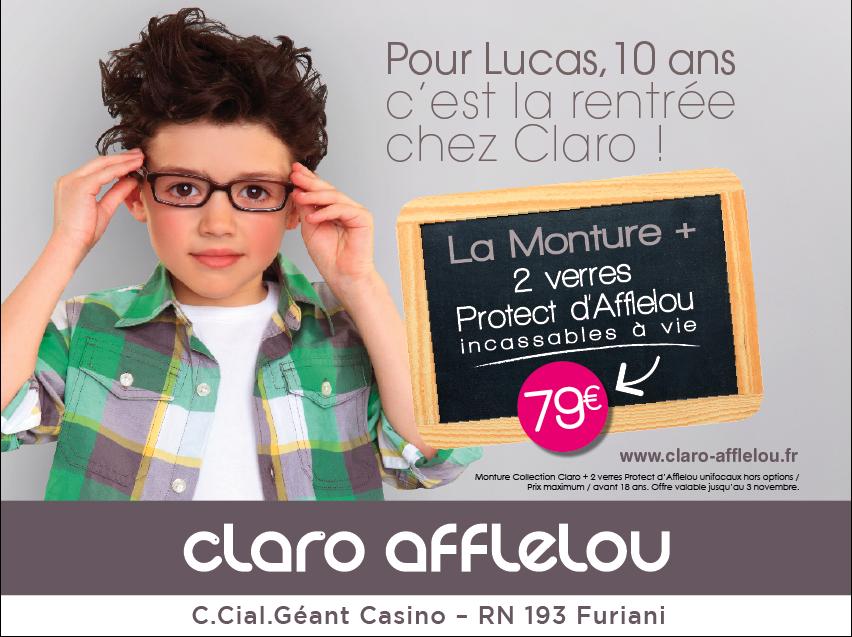 ee44a9a4cf L'agence Kapture signe la campagne nationale Claro et les supports de  communication magasins pour la rentrée 2012